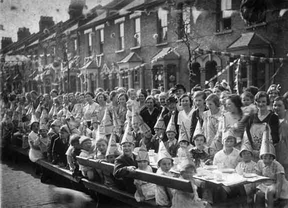 1930s party in Mellish Street