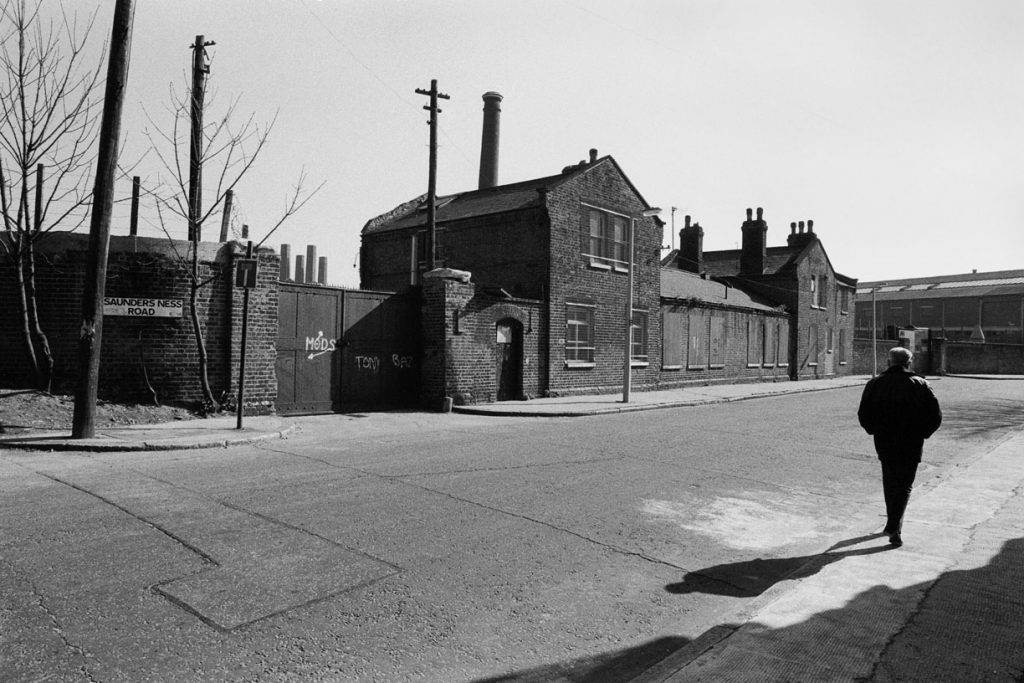 Saunders Ness Road and old Cumberland Oil Mills