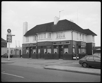 The City Arms in the 1980s